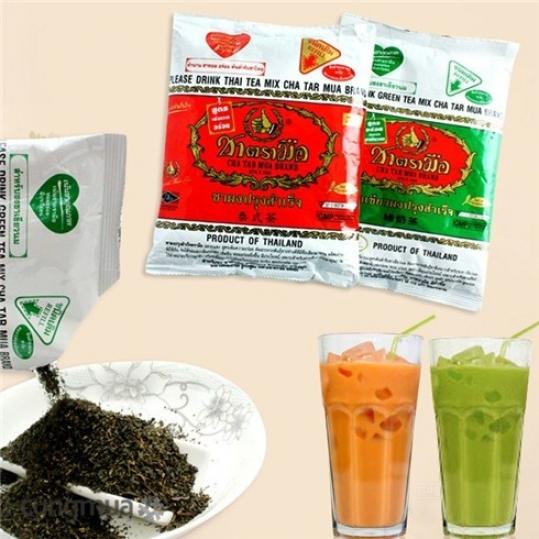 Trà bột Thái Cha Tar Mua nhập khẩu từ Thái (tặng 1 ly trà sữa)