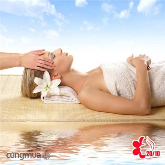 Chăm sóc da mặt kiểu Nhật hoặc massage body tinh dầu sả-An An Spa