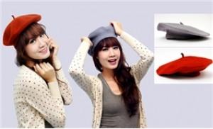 Làm điệu mái tóc, thêm cá tính cho trang phục với mũ Bê Rê