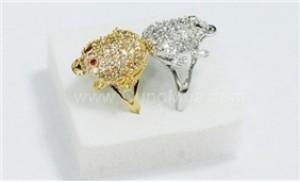 May mắn và tài lộc với nhẫn phong thủy cóc ngậm tiền mạ vàng, mạ bạc