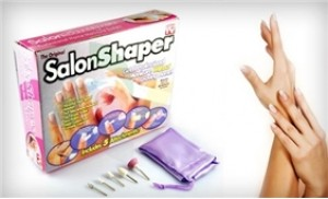 Cho đôi tay luôn sạch sẽ và hoàn hảo với máy làm móng tay Salon Shaper