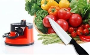 Làm bếp nhanh và chế biến thực phẩm thật dễ dàng với dụng cụ mài dao