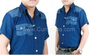 Cho phái mạnh vẻ tự tin, phong cách với Áo sơ mi Jean 2 túi cho nam - 1 - Thời Trang và Phụ Kiện