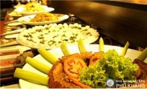 Buffet trưa 50 món tại nhà hàng hải sản Phú Khang thơm ngon, hấp dẫn