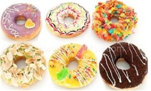 Cùng trải nghiệm hương vị thơm ngon của Combo 06 bánh Donut