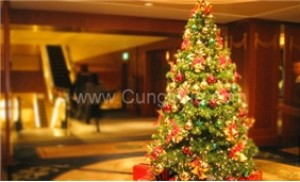 Rộn rã đón chào mùa giáng sinh với Cây thông noel cao 1,2m