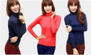 Áo len cao cổ giữ ấm cơ thể bạn gái mỗi khi đông về - 1 - Thời Trang và Phụ Kiện