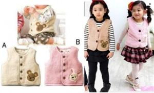 Áo ghi lê lông cừu cho bé yêu từ 01 - 03 tuổi - giữ ấm cơ thể bé