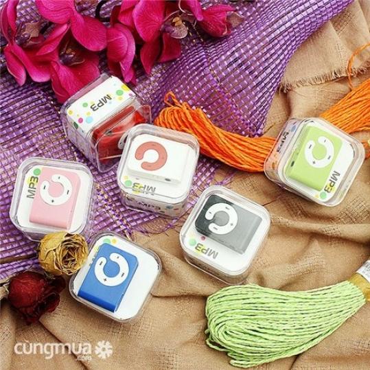 Máy nghe nhạc mp3 chữ C Candy dễ thương - BH 6 tháng