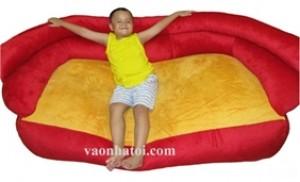 PGG sản phẩm ghế lười hạt xốp và gối ôm TẠI Showroom Ý Tưởng Trẻ