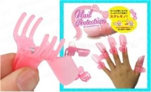 Bộ kẹp nail hộp 10 chiếc, bảo vệ bộ móng không trầy xước khi sơn