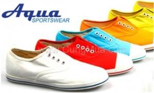 Trẻ trung, năng động cùng Giày thể thao Aqua kiểu Oxford