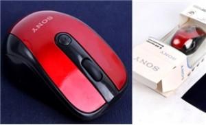 Combo chuột quang không dây cao cấp 2.4G & miếng lót chuột