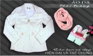 Áo dạ hai lớp thời trang cho nữ - Thanh lịch và trẻ trung