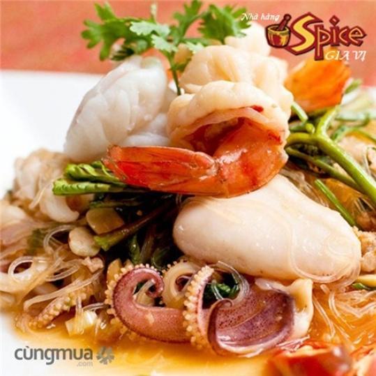 Món Thái ngon và thức uống hấp dẫn tại Nhà hàng Spice