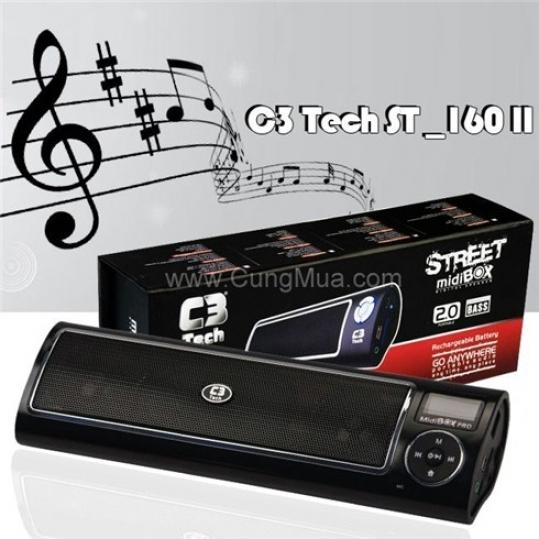 Máy nghe nhạc cầm tay C3 Tech ST-160II
