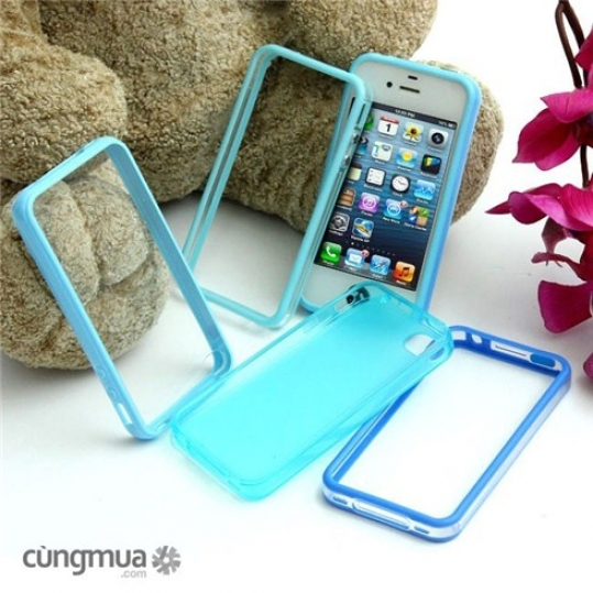 Ốp viền và ốp lưng iPhone 4 hoặc 5 (5 cái)