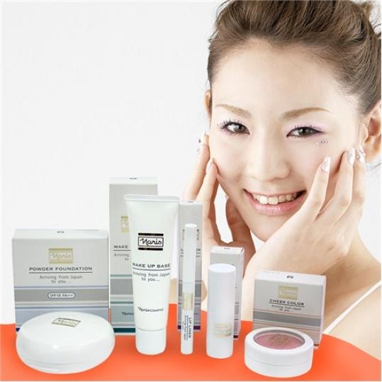 Bộ sản phẩm trang điểm Naris White - Nhật Bản (Voucher)