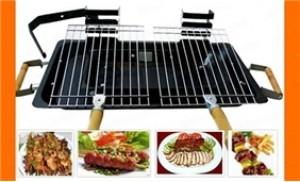 Bếp nướng than All stell Hibachi an toàn, dễ sử dụng