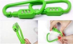 Combo 02 móc khóa số cực kute - Bảo vệ hành lý của bạn