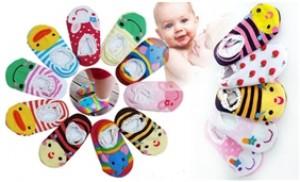 Combo 5 đôi tất len cho trẻ em từ 0-2 tuổi - 1 - Thời Trang và Phụ Kiện