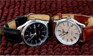 Đồng hồ nam dây da thời trang - Lịch lãm, sang trọng