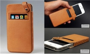 Bao da CHINAO iphone 4, 4S - bảo vệ an toàn dế yêu mọi lúc mọi nơi