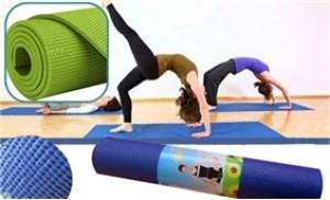 Thảm tập Yoga siêu mỏng, chống trơn - Cho bạn tập Yoga thật thoải mái