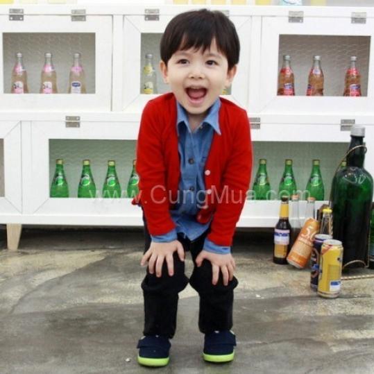 Áo khoác cardigan cho bé (3-8 tuổi)
