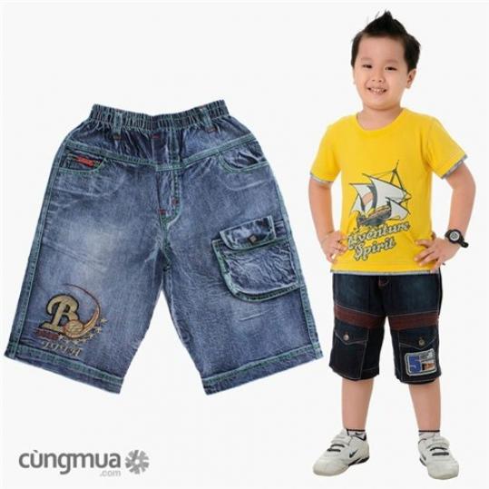 Quần jeans bé trai NS02 (Cho bé từ 10 - 16 tuổi)