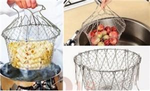 Rổ thông minh Chef Basket bằng thép không rỉ, quai cầm cách nhiệt