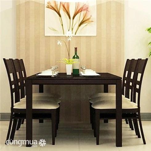Bộ bàn ăn 4 ghế - Nội thất Thiên Phố