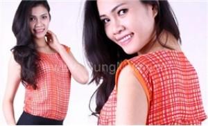 Năng động và phong cách cùng áo voan sọc caro, có 3 size khác nhau - 2 - Thời Trang và Phụ Kiện - Thời Trang và Phụ Kiện