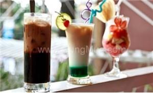 Thưởng thức cafe trong không gian vô cùng lãng mạn tại Cà phê EVa