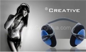 Tai nghe Creative chính hãng chất lượng âm thanh cao, không tạp âm