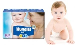 Tã dán Huggies XL-34 cho trẻ 11-16kg
