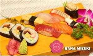 1 trong 3 set ăn trưa kiểu Nhật - Nhà hàng Hana Mizuki
