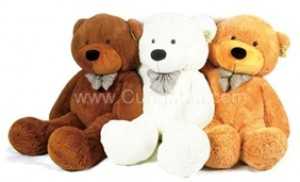 Gấu bông cao 1m- Giao quà Noel miễn phí.