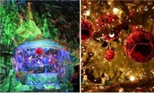 Combo 02 dây đèn nháy 100 bóng cao cấp trang trí Tết và Noel