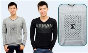 Áo len nam cổ tim, dài tay - Phong cách lịch lãm mùa đông - 1 - Thời Trang và Phụ Kiện