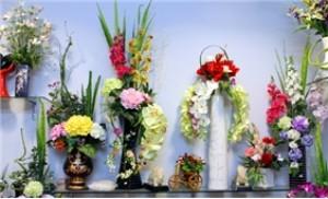 Bình hoa lụa nghệ thuật, tô điểm không gian thêm sang trọng