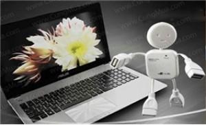 Bộ chia USB 04 cổng hình robot