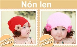 Bảo vệ bé yêu trong thời tiết se lạnh với nón len tóc đáng yêu cho bé - 3 - Thời Trang và Phụ Kiện