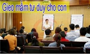 """Khóa học 01 buổi """"gieo mầm tư duy cho con"""" viện đào tạo kỹ năng GS"""