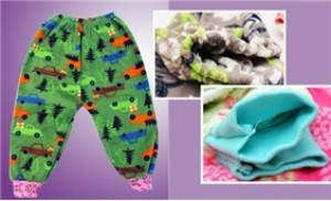 Combo 2 đôi quần nỉ hoa cho bé ấm áp và sành điệu - 3 - Thời Trang và Phụ Kiện