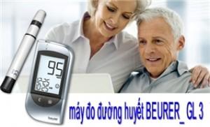 Trọn bộ máy đo đường huyết Beurer GL30 xuất xứ Đức