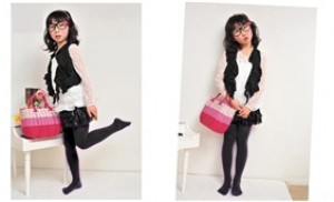 Combo 2 đôi quần tất nỉ đính đá - Ấm áp, điệu đà cho bé gái - 1 - Thời Trang và Phụ Kiện