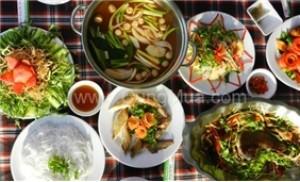 Set Menu 4 người tại nhà hàng Hàng Dương