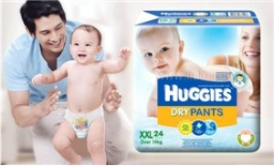Tã quần Huggies đại XXL 24 cho trẻ trên 14 kg