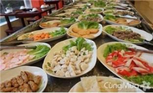 Tiệc buffet lẩu hải sản và các món nướng - PARADISE HOTPOT